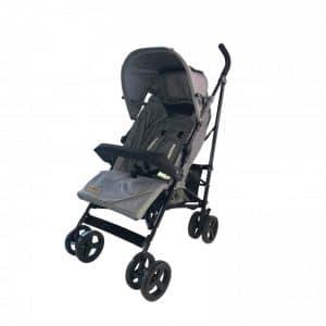 Babytrold - Paraplyklapvogn - Sprinter Klapvogn - Grå